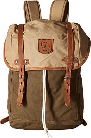 Fjallraven Unisex Rucksack No.21 Medium Backpack, Khaki, Sand, OS