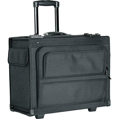 "Netpack 18"" Rolling Laptop Catalog Case (Black)"