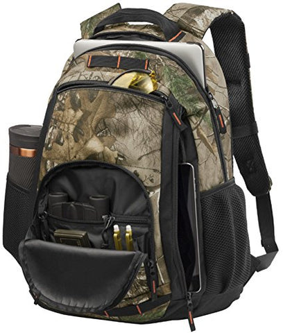 Joe'S Usa Durable Packable Handy Travel Hiking Backpack Daypack (Realtree Xtra/ Black)