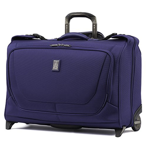 "Travelpro Luggage Crew 11 22"" Carry-On Rolling Garment Bag, Suitcase, Indigo"