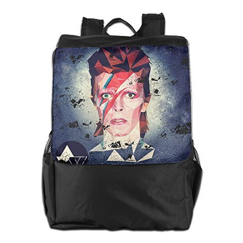 David Bowie Space Oddity Mens And Womens Lightweight Backpack Gym Bag For Ipad