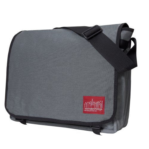 Manhattan Portage Deluxe Computer Bag, 17-Inch, Grey