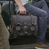 Saddleback Leather Classic Briefcase - The Original 100% Full Grain Leather Executive Briefcase Bag