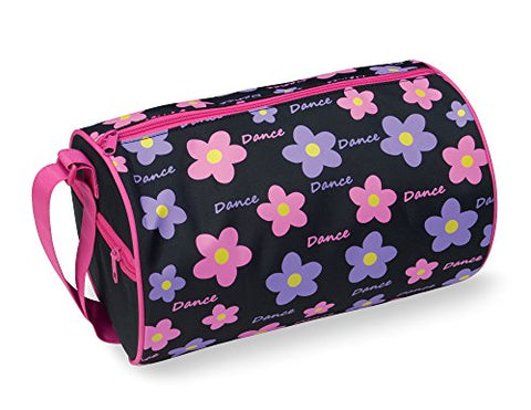 Dansbagz By Danshuz Women'S Daisy Dance Duffel Bag, Pink, Black, Os