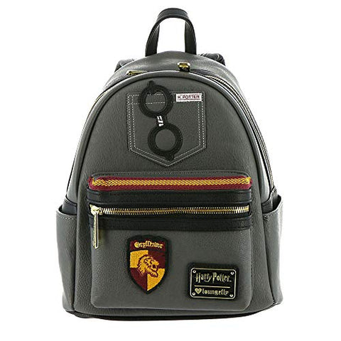 Loungefly Harry Potter Gryffindor Faux Leather Mini Backpack Standard