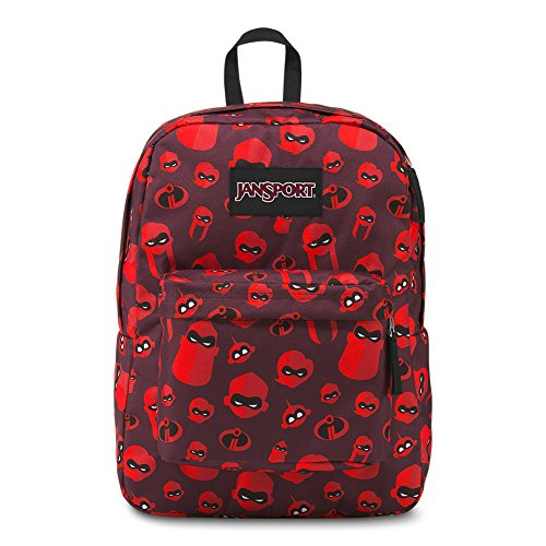 Jansport Incredibles Superbreak Backpack - Incredibles Family Icons Red