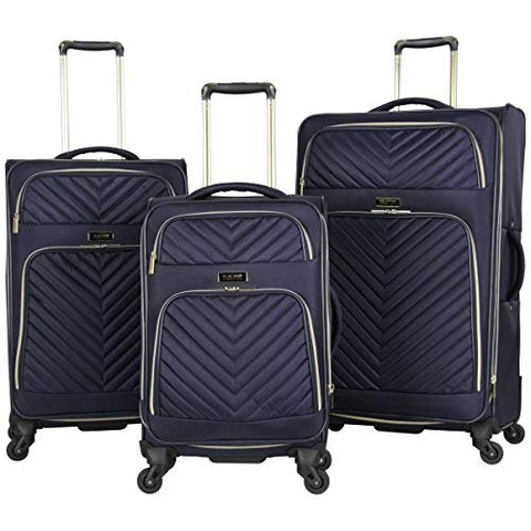Kenneth Cole Reaction Women'S Chelsea Softside Chevron Expandable 4-Wheel Spinner Luggage