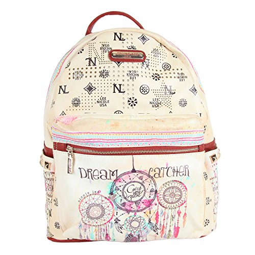 Nicole Lee 20 Inch Backpack, Dream Catcher, One Size