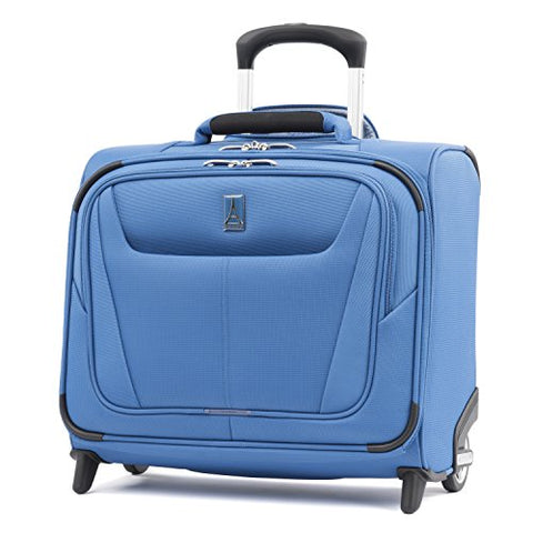 "Travelpro Maxlite 5 16"" Carry-on Rolling Tote Suitcase, Azure Blue"