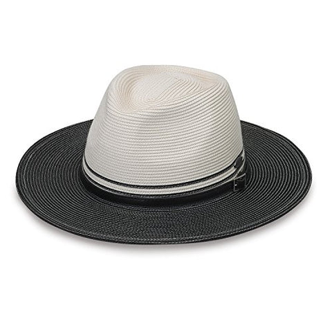 Kristy By Wallaroo Hat Company - Packable - Upf50+ - Ivory/Black