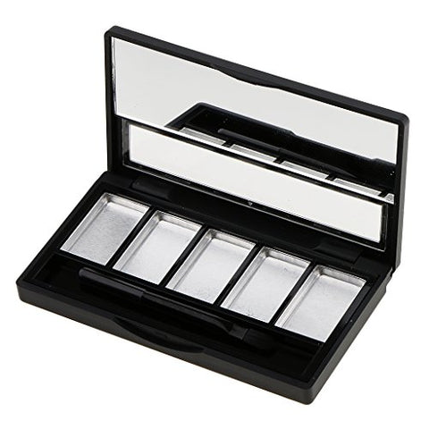Baoblaze Hot Sale Empty 4/5 Grids Eyeshadow Lipstick Powder Box Case Cosmetic Packing with Palettes