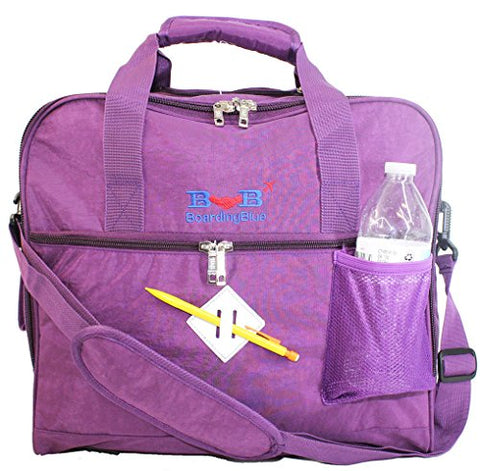 New BoardingBlue Allegiant Air Free Personal item Under Seat (Purple)