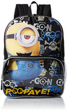 Despicable Me Big Boy's Despicableme Backpack Lunch Eyecon Accessory, Black, 16 Inches