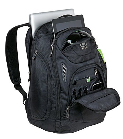 "Ogio Mercur Pack Black 17"" Laptop / Macbook Pro Backpack"