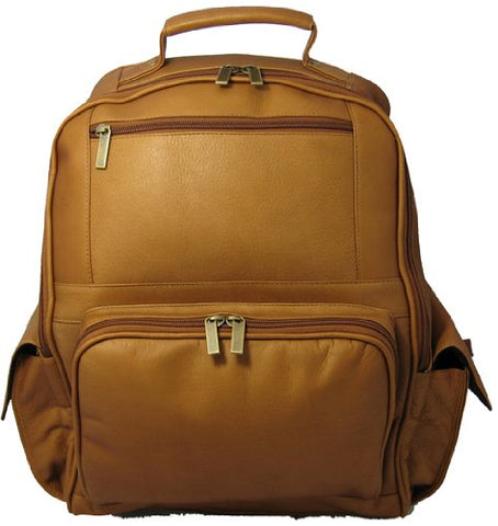 David King & Co. Large Computer Backpack, Tan, One Size