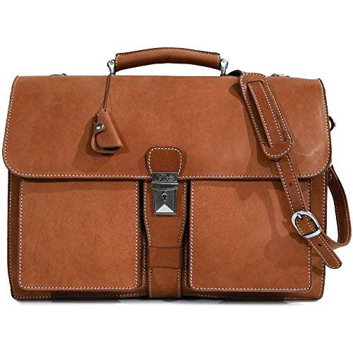 Floto Parma Edition Italian Leather Calf-skin Briefcase