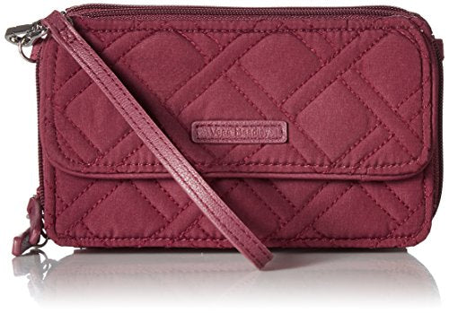 Vera Bradley Rfid All In One Crossbody, Hawthorn Rose