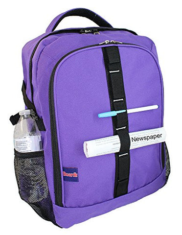 "Boardingblue Airlines Personal Item 18"" Laptop Backpack underseter Free 2-Day-Shipping"