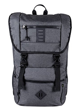 ecogear Pika Commuter Laptop Backpack, Grey One Size