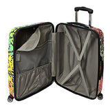 Chariot 3 Piece Hardside Lightweight 8Wd Spinner Luggage Set, Safari, One Size