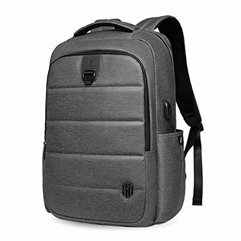 Laptop Backpack 17 Inch Travel Computer Pack Bag with USB Charging Port Waterproof Oxford College