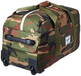 Herschel Supply Co. Wheelie Outfitter Duffle Bag, Woodland Camo