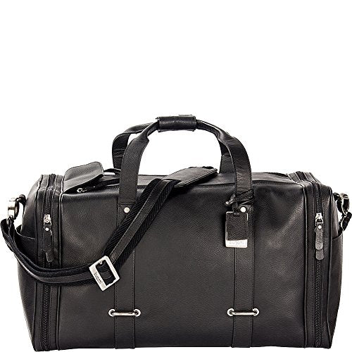 Bugatti Bello Leather Duffle Bag (Black)