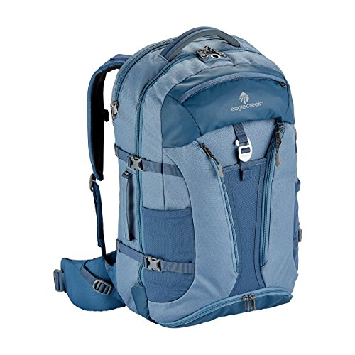 Eagle Creek Global Companion 40L Women's Backpack Travel Water Resistant Mulituse-17in Laptop Carry-On Luggage, Smokey Blue