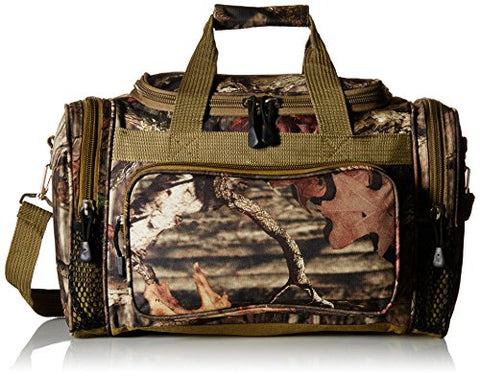 Explorer 17 inch Mossy Oak Infinity Duffel Bags are Built with Water Resistant 600D Polyester