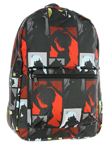 Rwby Backpack Anime Emblems Character Silhouette