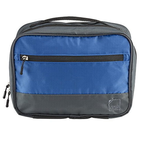 Lewis N. Clark Discovery Hanging Toiletry Kit, Blue