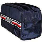 Tommy Hilfiger Men's Signature Tape Double Wash Bag Navy One Size