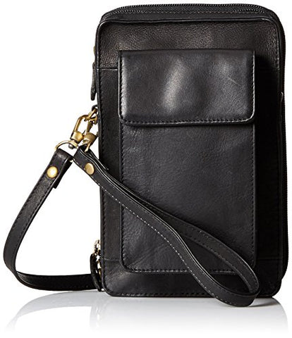 Derek Alexander Ns Top Bag With Rear Zip Organizer, Black