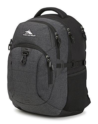 High Sierra Jarvis Laptop Backpack, Black