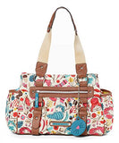 Lily Bloom Triple Section Landon Satchel, Cats