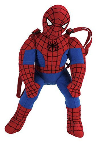 Fast Forward Little Boys' Spiderman Shaped Plush, Red, One Size