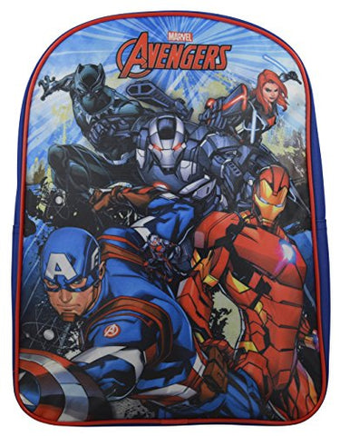 "Marvel Avengers Captain America Kid's 15"" School Backpack Travel Bag"