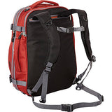 "eBags TLS Mother Lode Weekender Junior 19"" Carry-On Travel Backpack - Fits Up to 17.5"" Laptop - (Sinful Red)"