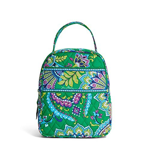 Vera Bradley Lunch Bunch Emerald Paisley