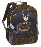 DC Comics Batman Dark Knight Backpack with Detachable Lunch Bag - Kids