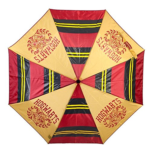 Harry Potter Hogwarts Compact Folding Umbrella School of Witchcraft and Wizardry