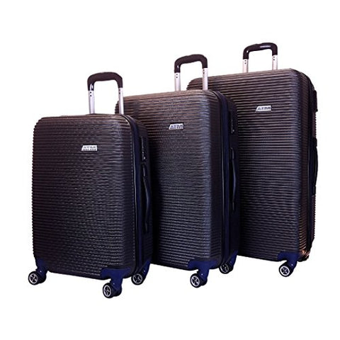 "Hardshell Spinner Luggage Sets Modern Travel Suitcase 3 Pieces 30"" 26"" 22"" 360 Lightweight Hard"