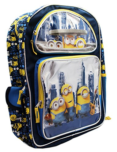 New Minions New York Travels Large School Backpack-4537