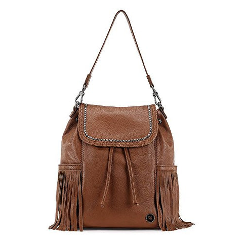 The Sak Women's Avalon Backpack Tobacco Fringe Backpack