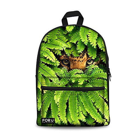 Youngerbaby Male Backpack Animal Print Fashion School Bag For Teen Boys