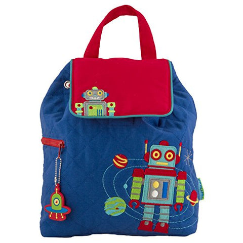 Stepheh Joseph Quilted Backpack, Robot