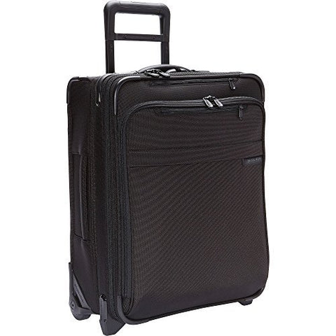 Briggs & Riley Baseline International Wide Body Upright Carry-On (One Size, Black)