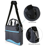 Vangoddy Wave Slim Blue Anti Theft Messenger Bag For Lenovo Flex / Thinkpad / Ideapad / Yoga /
