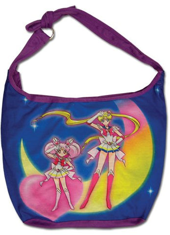 Sailor Moon Super S - Two Main Characters Hobo Bag