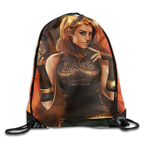 Becky Lynch Lass Kicker Drawstring Backpack Travelling Bag